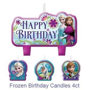 アナと雪の女王 ディズニー Disney Frozen Happy Brhday Candle 誕生日|heartwrap