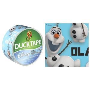 アナと雪の女王 オラフ テープ Duck Tape Frozen Olaf 幅48mm×9.1m デコレーション|heartwrap