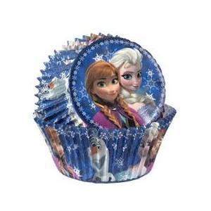 アナと雪の女王 Frozen  Baking Cups 50ct パーティーグッズ 雑貨|heartwrap