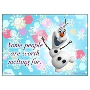アナと雪の女王 ディズニー オラフ マグネット Disney Frozen Olaf Magnet|heartwrap