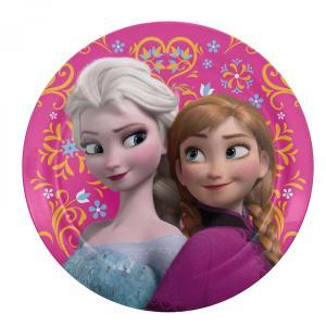 アナと雪の女王 ディズニー プラスチック プレート Disney Frozen Plastic Plate Zak!|heartwrap