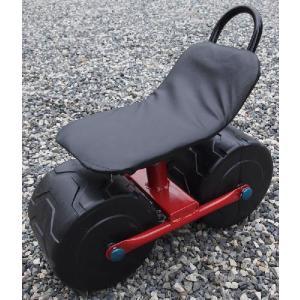 らくちん能率車 移動式イス 椅子|hearty-e