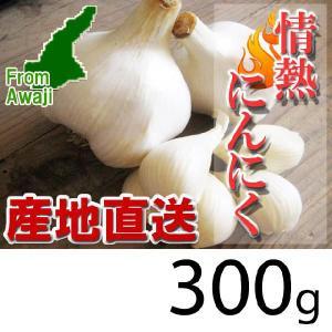 ジャンボにんにく 淡路島産 情熱にんにく 300g|hearty-e