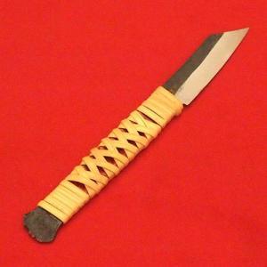 肥後守 ナイフ 籐巻きナイフ 角型 ケース付|hearty-e