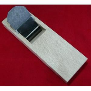 鉋「広重」白紙 白樫 寸八(70mm) 山本芳楽|hearty-e