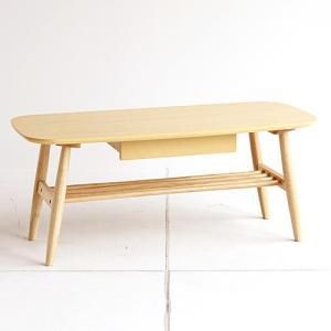 ■センターテーブル T-2746NA ナチュラル 木製 幅100cm 家具|hearty-e
