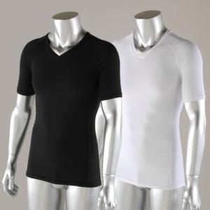 半袖 インナー Vネックシャツ JW-622 おたふく|hearty-e