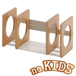 市場 naKIDS ネイキッズ ブックスタンド KDB-1542NA ナチュラル|hearty-e