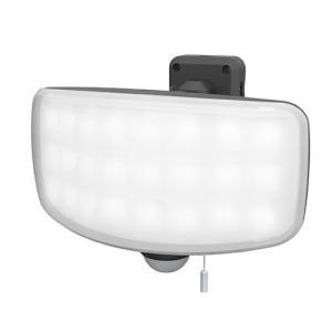 ライテックス LED-AC1027 27Wワイドフリーアーム式LEDセンサーライト コンセント式 2200ルーメン RITEX|hearty-e