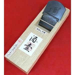 常三郎 鉋 酒壷(みき) 特殊粉末ハイス鋼 裏出不要 白樫 普通口 寸八 70mm 又は 寸六 65mm|hearty-e