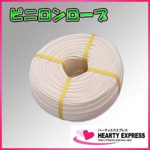 ■熱に強い!ビニロン(クレモナ)ロープ 6mm×200m hearty-e