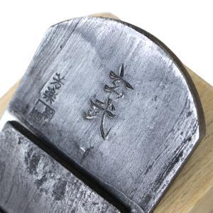 山本鉋 玄武 白樫半包台 寸八70mm 青鋼 共押え 釜地木目|hearty-e