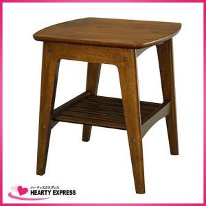 ヤマソロ サイドテーブル ロージー 82-751 高さ50cm 机 レトロ|hearty-e