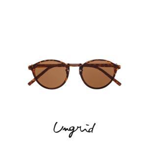 代引き不可 セール30%OFF Ungridアングリッド メタルブリッジサングラス  18春夏.予約1118210445 hearty-select