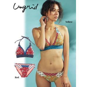 セール40%OFF  Ungrid アングリッド Karen swim wear  18春夏. 111823241701 hearty-select