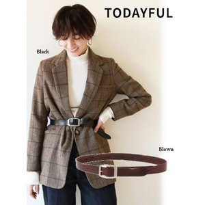 TODAYFUL  トゥデイフル Vintage Leather Belt 18秋冬3 11611018|hearty-select