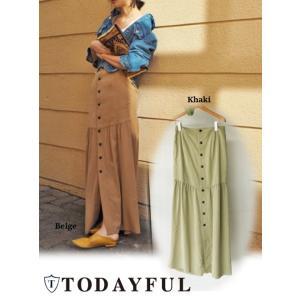 夏セール50%OFF! TODAYFUL(トゥデイフル)Hem Flare Skirt  17春夏【11710808】|hearty-select