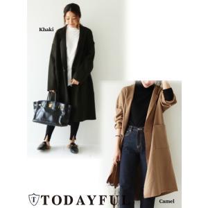 TODAYFUL(トゥデイフル)Wool Over Coat 17秋冬【11720002】|hearty-select