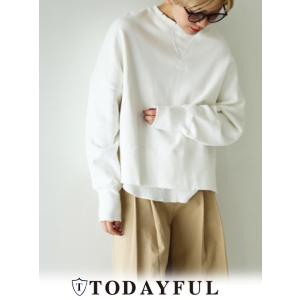 TODAYFUL(トゥデイフル)Layered Wide Sweat  17秋冬【11720605】|hearty-select