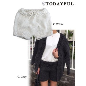 TODAYFUL(トゥデイフル)Hand Knit Bloomers  17秋冬【11720706】|hearty-select