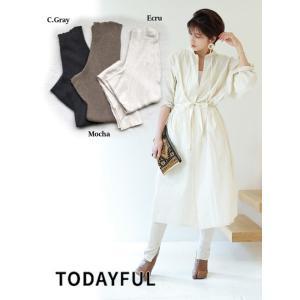 TODAYFUL  トゥデイフル Thermal Knit Leggings  18秋冬. 11821052 パンツ|hearty-select