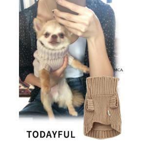 TODAYFUL  トゥデイフル Dog Turtle Knit  18秋冬. 11821062 その他 ドッグタートルニット|hearty-select