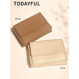 50%OFF TODAYFUL (トゥデイフル)Leather Mini Wallet  2019春夏. 2 11821077財布|hearty-select