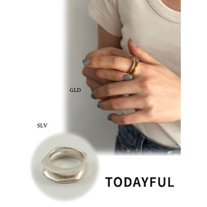 TODAYFUL  トゥデイフル Cutting Line Ring  Silver925   19春夏. 11910930リング 受注会|hearty-select