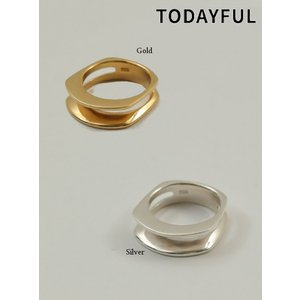 TODAYFUL  トゥデイフル Cutting Line Ring  Silver925   19春夏. 11910930リング 受注会|hearty-select|06