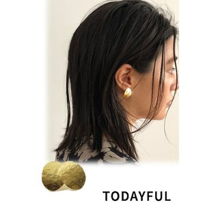 TODAYFUL トゥデイフル Oval Nuance Pierce  Silver925   19春夏. 11910937ピアス・イヤリング|hearty-select