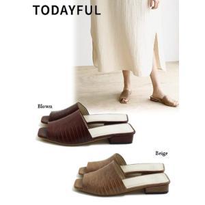 TODAYFUL  トゥデイフル Opentoe Crocodile Sandals  19春夏 11911001 サンダル|hearty-select