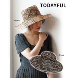 TODAYFUL トゥデイフル Abaca Brade Hat  19春夏 11911021帽子 hearty-select