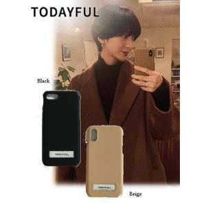 TODAYFUL トゥデイフル Logo i-Phone Case  19春夏 11911033iPhone・iPadケース iPhone7/8/X対応 hearty-select