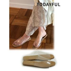 TODAYFUL (トゥデイフル)Clear Flat Sandals  19春夏. 11911065サンダル|hearty-select