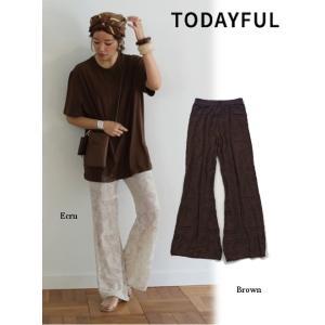 TODAYFUL トゥデイフル Sheer Knit Leggings 19春夏. 予約2  11911086レッグウェア|hearty-select
