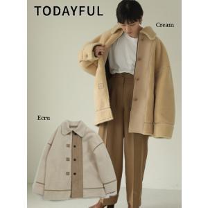 TODAYFUL  トゥデイフル Bonding Boa Coat  19秋冬.予約 11920005 ブルゾン  ボンディングボアコート|hearty-select