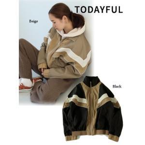 代引き不可  TODAYFUL  トゥデイフル Standcollar Nylon Jacket  19秋冬予約 11920202|hearty-select