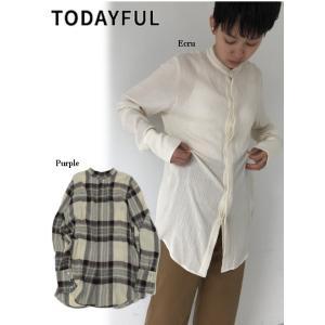 代引き不可  TODAYFUL  トゥデイフル Softwool Long Shirts  19秋冬予約 11920404|hearty-select