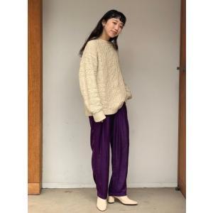 TODAYFUL  トゥデイフル Vintage Aran Knit  19秋冬.予約 11920525 ニットトップス ヴィンテージアランニット アラン セーター|hearty-select|02