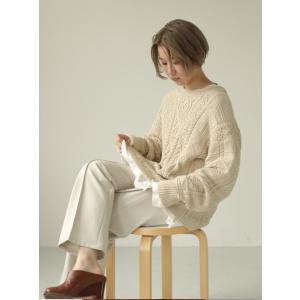 TODAYFUL  トゥデイフル Vintage Aran Knit  19秋冬.予約 11920525 ニットトップス ヴィンテージアランニット アラン セーター|hearty-select|03