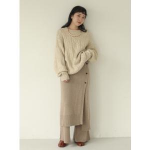 TODAYFUL  トゥデイフル Vintage Aran Knit  19秋冬.予約 11920525 ニットトップス ヴィンテージアランニット アラン セーター|hearty-select|05