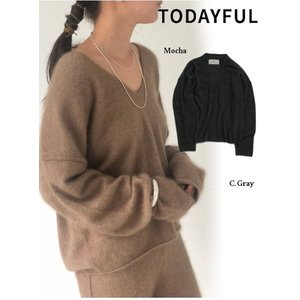 TODAYFUL  トゥデイフル Soft Racoon Knit  19秋冬.予約 11920542|hearty-select