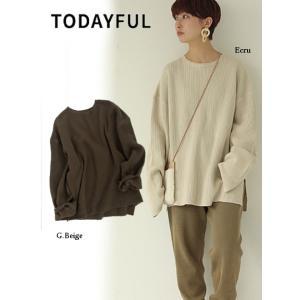 TODAYFUL  トゥデイフル Boyfriend Cutoff Knit  19秋冬.予約 11920543|hearty-select