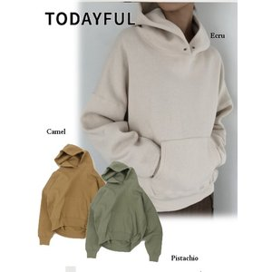 TODAYFUL  トゥデイフル Heavycotton Sweat Parka 19秋冬予約 11920613|hearty-select