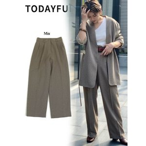 TODAYFUL  トゥデイフル Centerpress Trousers  19秋冬予約 11920705|hearty-select