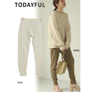 TODAYFUL  トゥデイフル Vintage Thermal Pants  19秋冬.予約 11920721|hearty-select