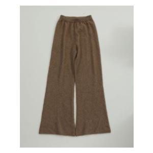 TODAYFUL  トゥデイフル Soft Raccoon Pants  19秋冬.予約 11920722 パンツ ソフトラクーンパンツ ラクーン ニットパンツ|hearty-select|03