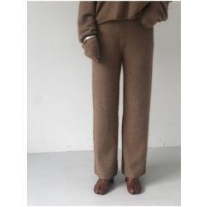 TODAYFUL  トゥデイフル Soft Raccoon Pants  19秋冬.予約 11920722 パンツ ソフトラクーンパンツ ラクーン ニットパンツ|hearty-select|04