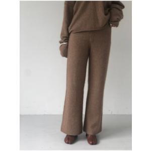 TODAYFUL  トゥデイフル Soft Raccoon Pants  19秋冬.予約 11920722 パンツ ソフトラクーンパンツ ラクーン ニットパンツ|hearty-select|06