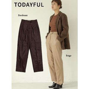 TODAYFUL  トゥデイフル Ecoleather Trousers  19秋冬.予約 11920723|hearty-select